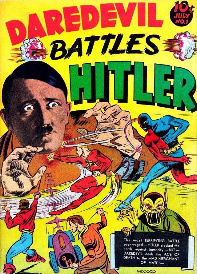 Daredevil comics de Lev Gleason