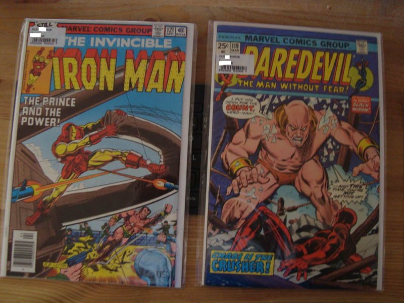 Daredevil et Iron-Man