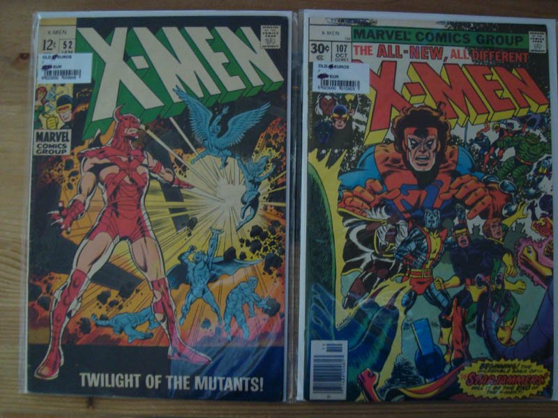 X-men 52 et 103