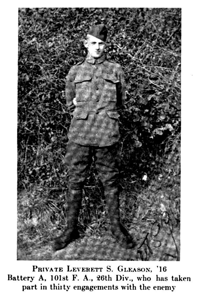 Lev Gleason militaire