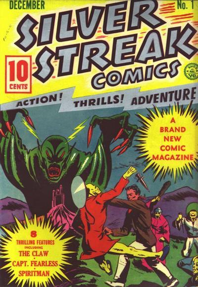 Silver Streak #1 – décembre 1939